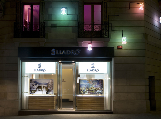 Lladro´s Barcelona new boutique opening